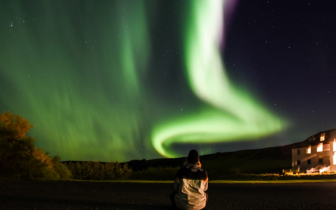 Iceland – northern lights in Thorlakshofn