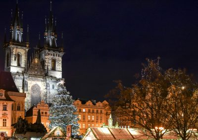 Prague – the biggest Christmas Tree ever!