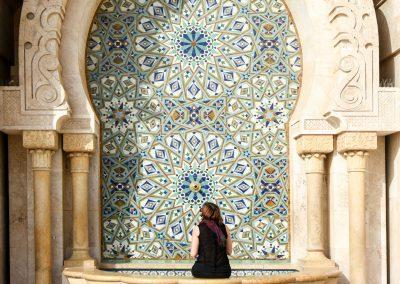 Casablanca – visita à Mesquita Hassan II