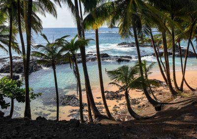 São Tomé – the way to Praia-Piscina