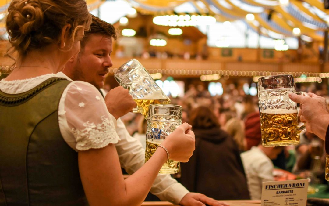 End of September in Munich = Oktoberfest