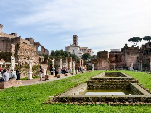 Roman Forums – a journey into history (and the reason why the metro in Rome doesn't make sense)