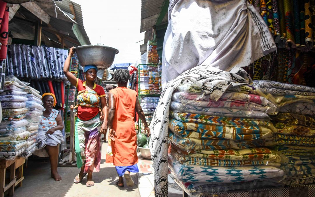 Exploring the markets of Accra