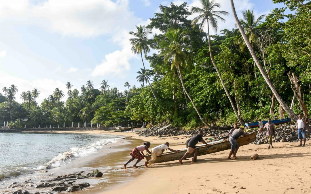Fishermen of Santana – São Tomé