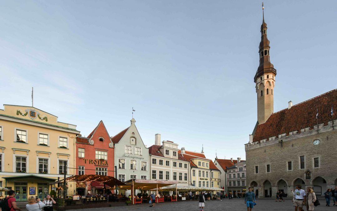 Tallinn, a medieval city