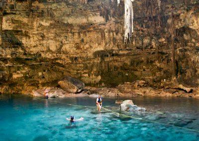 À descoberta do Yucatán (México)