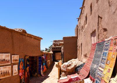 Inside Aït-Ben-Haddou