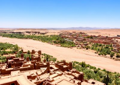 The view from Aït-Ben-Haddou