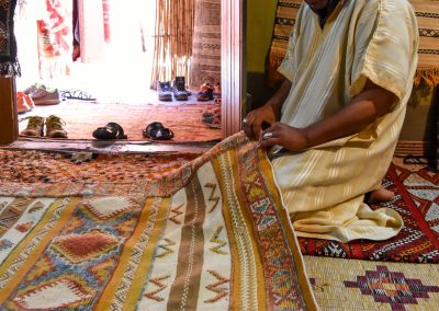 Artisanal carpet factory, Tinghir