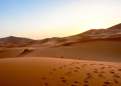 Sunrise at Merzouga