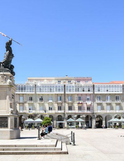 Plaza Maria Pita, A Coruña