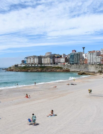 Playa Orzán, A Coruña