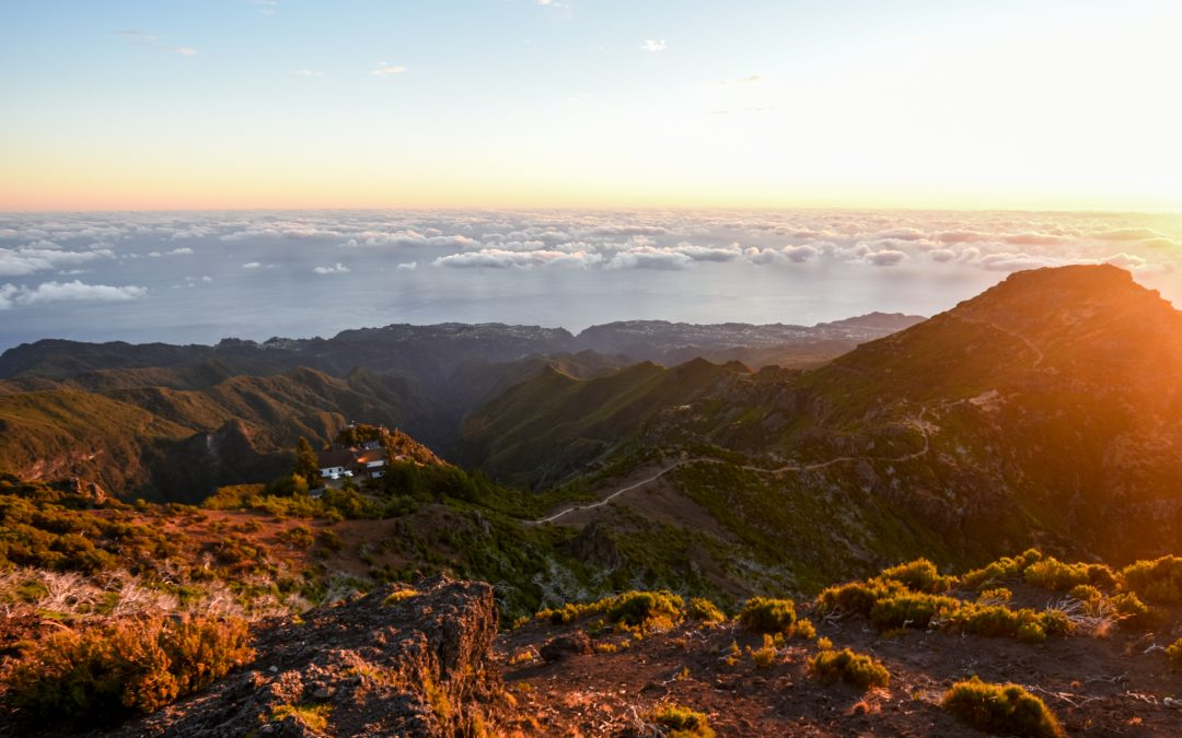 Sunrise at Pico Ruivo (Madeira)