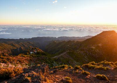 Nascer do Sol no Pico Ruivo (Madeira)