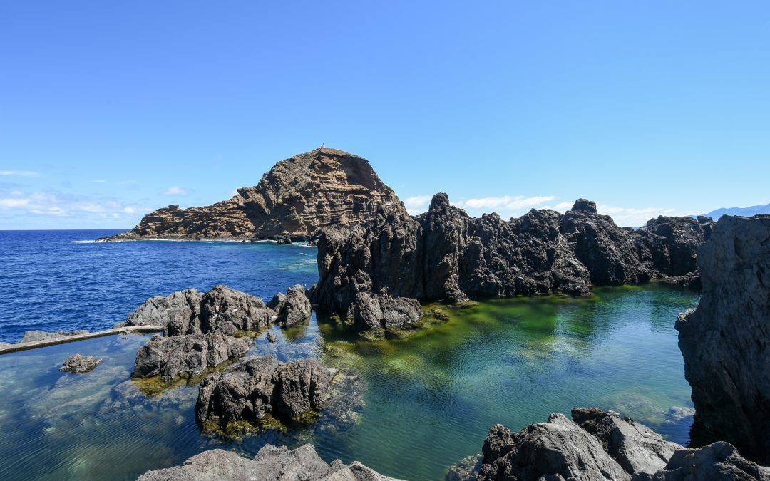 Natural pools of Porto Moniz (Madeira)